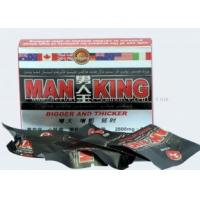 Wholesale MAN KING concentrated natural botanic herbal male enhancement sex pills to solve impotence from china suppliers