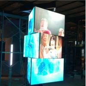 360 degree rotating led screen on sale, 360 degree rotating led