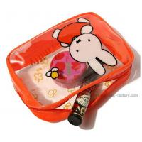Cute Miffy PVC Cosmetic Bag Heat Sealed Make Up Purse With Beautiful Printing
