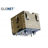 Vertical 180 Degree Micro Rj45 Connector With Magnetic 2.5G 5G Base T POE