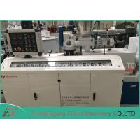Quality PVC Electrical Pipe Manufacturing Machine With Conical Double Screw Extrude for sale