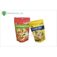 Wholesale Heat Sealing Printed Stand Up Pouches Packaging With Zipper For Food from china suppliers