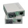 Wholesale Single Mode Fiber Optic Media Converter Gigabit To Rj45 1550nm 10Base-T / 100Base-TX from china suppliers