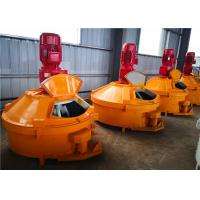 Quality Unshaped Refractories Planetary Concrete Mixer , Low Noise PMC100 Concrete Speed Mixer for sale