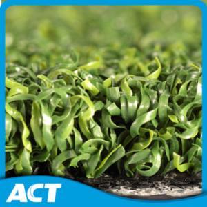 Multipurpose PE Curly Yarn Artificial Turf Grass , Golf Garden Artificial Turf Tennis Court