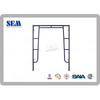 Wholesale Electro-Plated Wallthrough Scaffolding Frames With 42.9mm Steel Tube from china suppliers