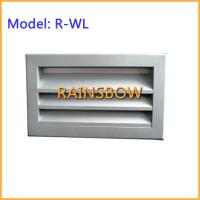 Weather Louver R-WL,supply  return aluminium air grille air register air vent grille air diffuser