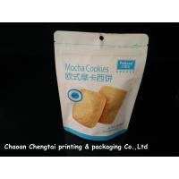Quality Cookies UV Surface Stand Up Packaging Pouches With Zipper 0 - 9 Colors QS for sale