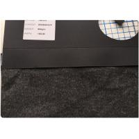Quality 26 W Grey Stretch Wool Fabric 9% Nylon  57 Polyester 650 G Per Meter For Socks / Hats for sale
