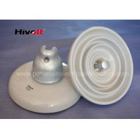 Quality ANSI 52-3 White Disc Suspension Insulator For Distribution Power Lines for sale
