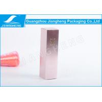 Quality Eco - Friendly Cosmetic Packaging Boxes With CMYK Printing , 53X53X185mm for sale