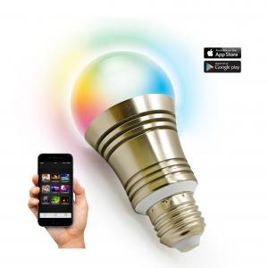 Bluetooth Wifi Energy Saving SMD 7.5W smart lighting e27/B22 led bulb
