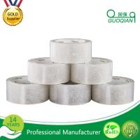Strong Adhesive White Silent Packing Tape , Clear Custom Masking Tape
