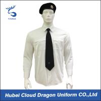 Quality Wrinkle Resistant Security Polo Shirts / Security Officer Shirts For Company Guard for sale