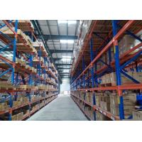 Multi Level Metal industrial Heavy Duty Racking Warehouse Storage With CE Certificate