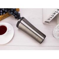 Quality Classic Double Wall Suction Travel Mug Vacuum Insulated Unspillable Coffee Cup for sale