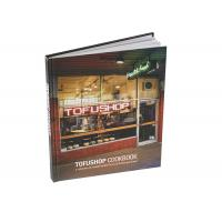 Quality Hard Cover Custom Cookbook Printing, Food Book Printing, Coffee Book Printing for sale