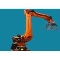 Rotary Scraping Robot Palletizing Equipment For Cartons Cans Containers