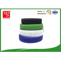 Quality Two sided hook and loop sew on hook and loop tape various color 25m / roll for sale