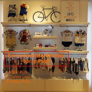 High End Baby Shop Garment Display Rack Kids Shoes Display Rack