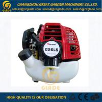 Wholesale Single Cylinder Air Cooled Glade Gasoline Brush Cutter Parts Grass Cutter Engine G26 from china suppliers
