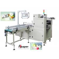 High Output  Automatic Handle Fixing Machine , For Box Tissue And Roll Paper