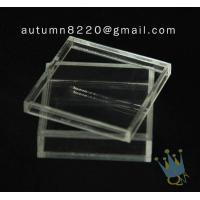BO (105) acrylic counter top display cases