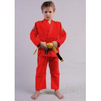 Wholesale Lightweight Brazilian Jiu Jitsu Clothing Red Karate Suit 100% Cotton Material from china suppliers