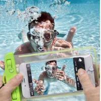 Outdoor Waterproof Pouch Bag Universal IPX8 Protection With Transparent Windows