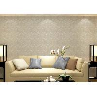 Quality Colorful luxury wallpaper for walls , Floral sticky back wallpaper house design for sale