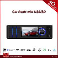 Black and White LCD display Car MP3 Player/ISO connector/BT/Colorful screen(Model:V-5861U)