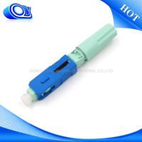 Field Assembly SC Type Fiber Optic Connector Low Insertion Loss For CATV Links