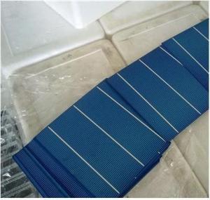 3.6w-4.3w polycrystalline solar cells 6x6 with efficiency 15%-17.8%