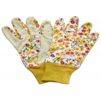 Quality Yellow Twill Working Hands Gloves Breathable Protecting Against Abrasion for sale