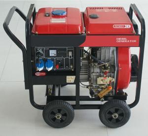 3kw / 4 kw Diesel Generator 77 Noise Level , 13 5L Capacity