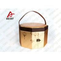 Buy Long Handled Decorative Gable Boxes , Christmas Cardboard Boxes With Lids ODM at wholesale prices