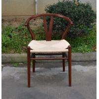 Home Rattan Dining Chair with Leather Back /Hotel Banquet Chair for Sale/ Rattan Side Chair