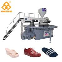Fully Automatic Rotary Plastic Shoes Making Machine For PVC