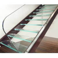 Ultra Clear Tempered Laminated Glass For Stairs High Strength ISO 12543
