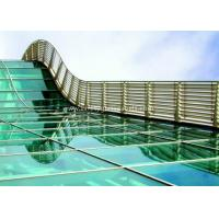 Quality BS / ASTM Approve 12mm Toughened Safety Glass For Subway Station for sale