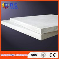 Quality Refractory Ceramic fiber board for industrial kiln / furnace , White Color for sale