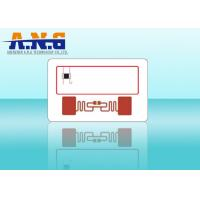 High Frequency Passive Rfid Inlay Combo Chip S50 Alien H3 For Smart Card