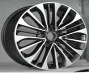 Wholesale Black Truck Alloy Wheels With Paint / Machine Face 18 Inch X 7.5 Inch from china suppliers