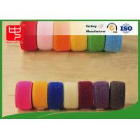 Quality Double sided hook and loop tape 10 ~ 50mm nylon mix polyester / nylon hook and loop for sale