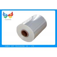 Quality 40mic Shrinkable Clear PVC Shrink Label Wrap Film For Wrapping And Printing Label for sale