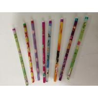 Wholesale wood HB pencil with eraser on top from china suppliers