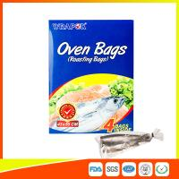 PET Oven Cooking Bags Heat Resistant For Fish / Meat / Turkey Eco Friendly