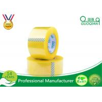 Quality Security Adhesive BOPP Packaging Tape , Waterproof Sticky Tape Long Lasting for sale