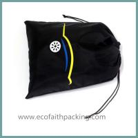 nylon shoes bag with drawstring