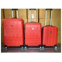 Colorful 3 Pcs Luggage Travel Set Bag ABS Trolley Suitcase With 4 Universal Wheels